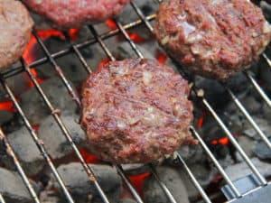 mleté maso na gril - recept