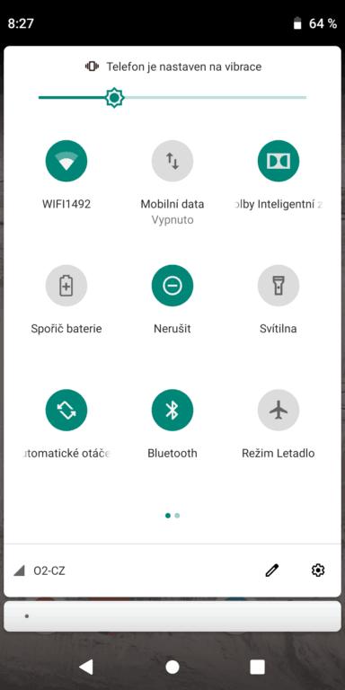 Recenze Motorola Moto G6 Plus - systém