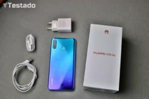 Recenze Huawei P30 Lite - obsah balení