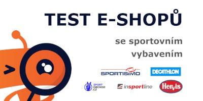 Test e-shopů se sportovním oblečením – recenze a srovnání