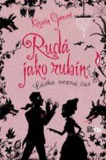 Rudá jako rubín recenze knihy pro dívky