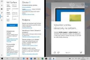 Microsoft Surface Go systém