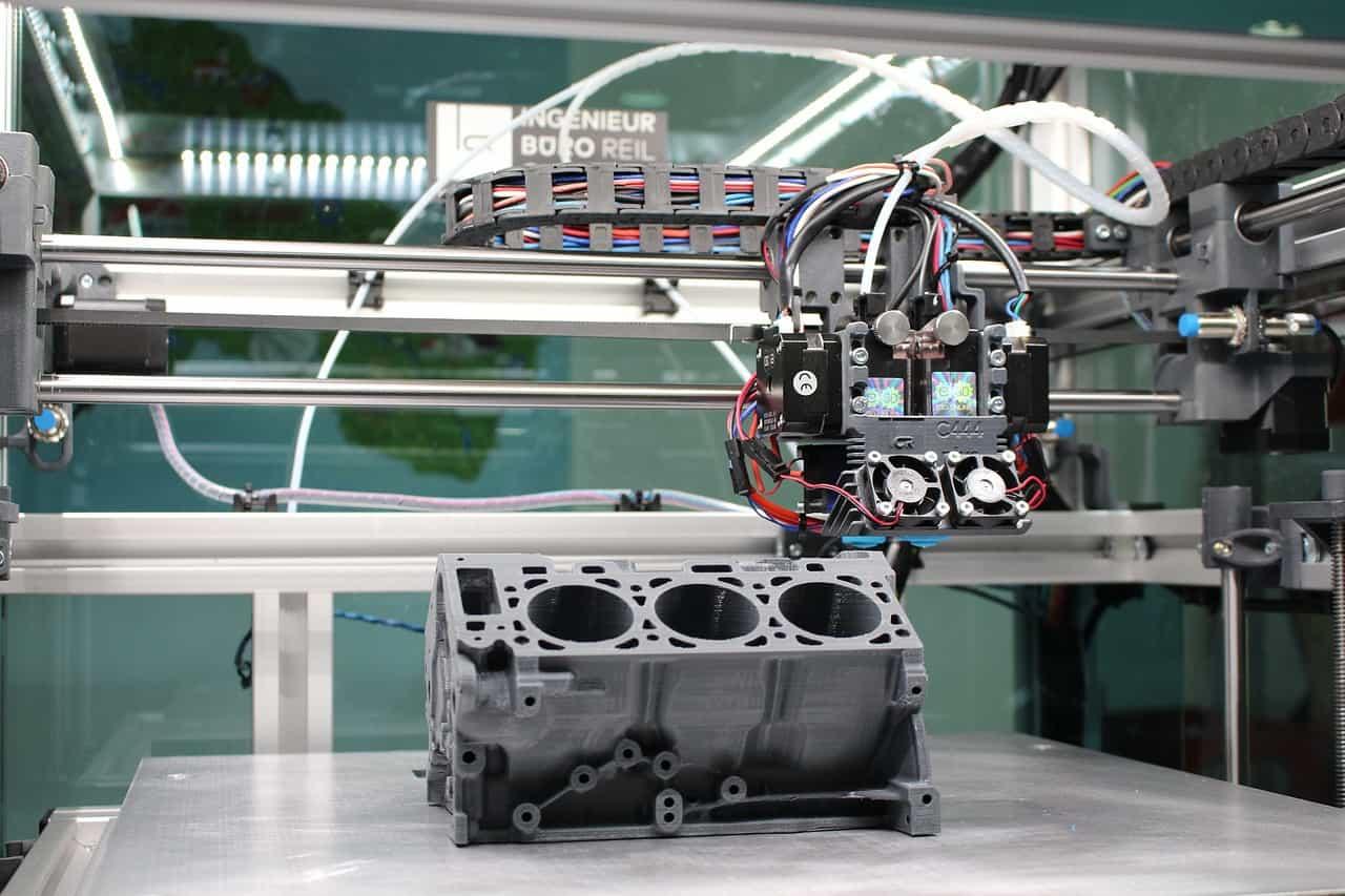trojrozměrný tisk na 3D tiskárně