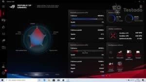 Recenze herního notebooku Asus ROG Zephyrus S (GX502) systém