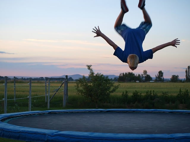 jak vybrat trampolínu - doporučení a rady