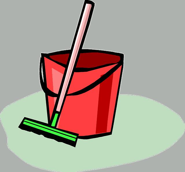 mop na podlahu - Nádoba na vodu
