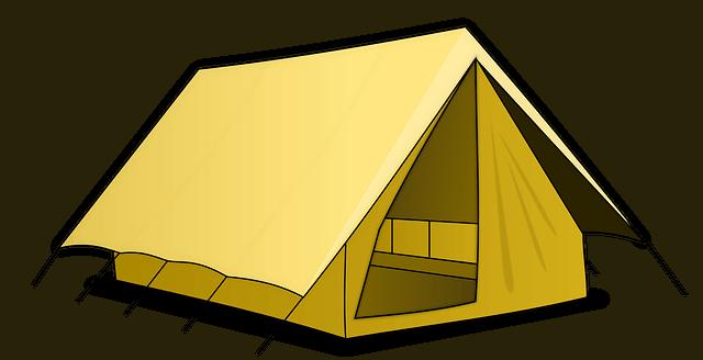 Pláště stanů - rozdělení