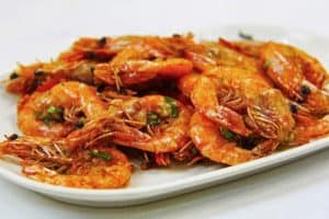 recept na Smažené krevety