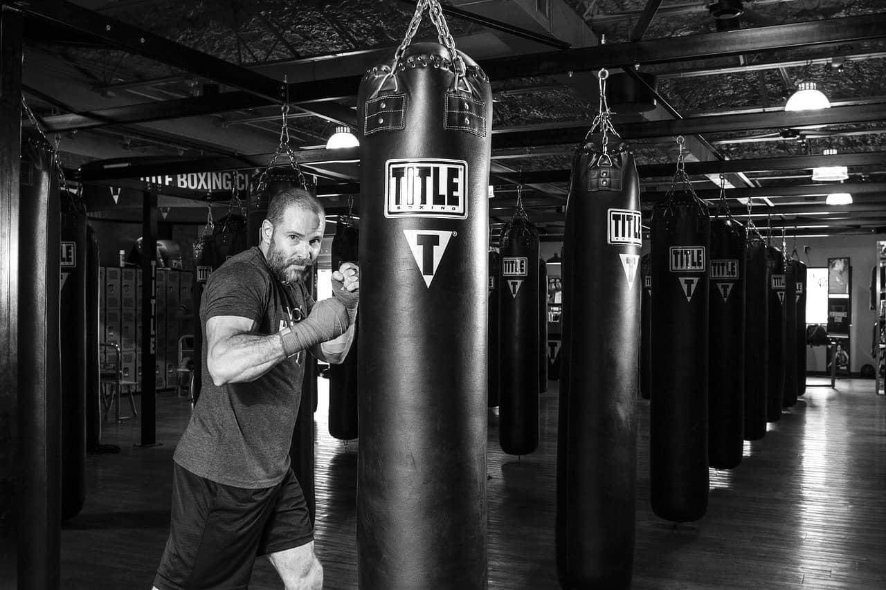 trénink s boxovacím pytlem