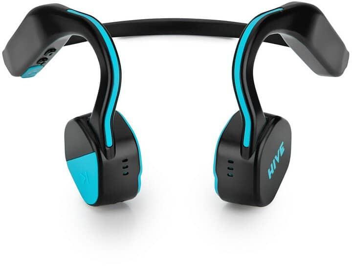 Sportovní sluchátka na uši