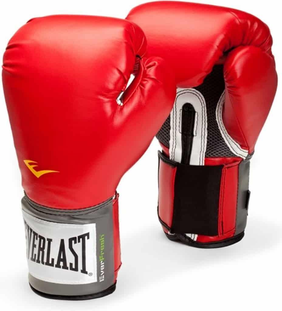 uzavřené boxovací rukavice