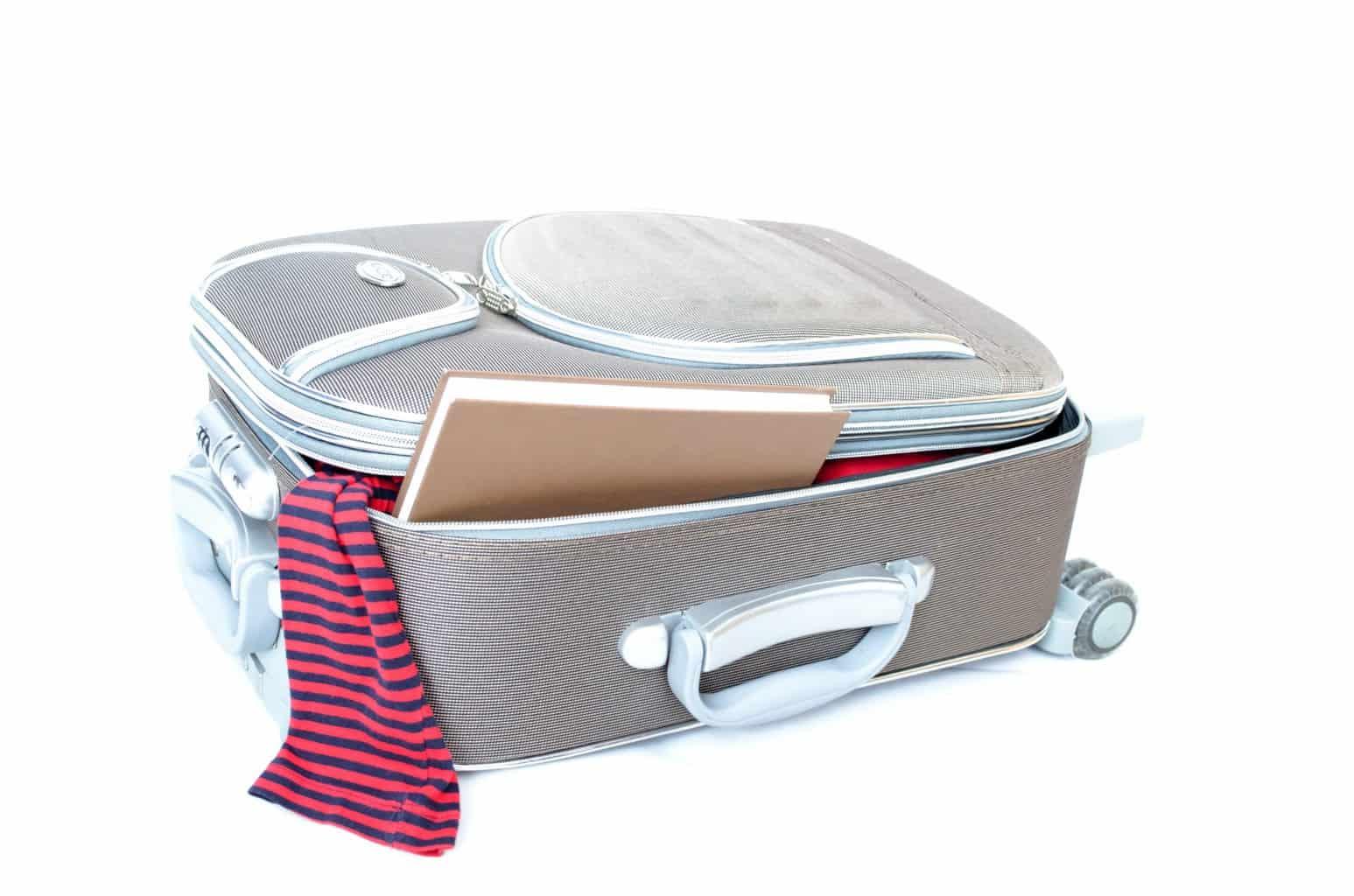 jak si správně zabalit kufr