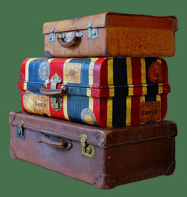 Druhy kufrů podle jejich velikosti - rozdělení