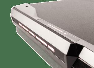 LED diody na herním stole