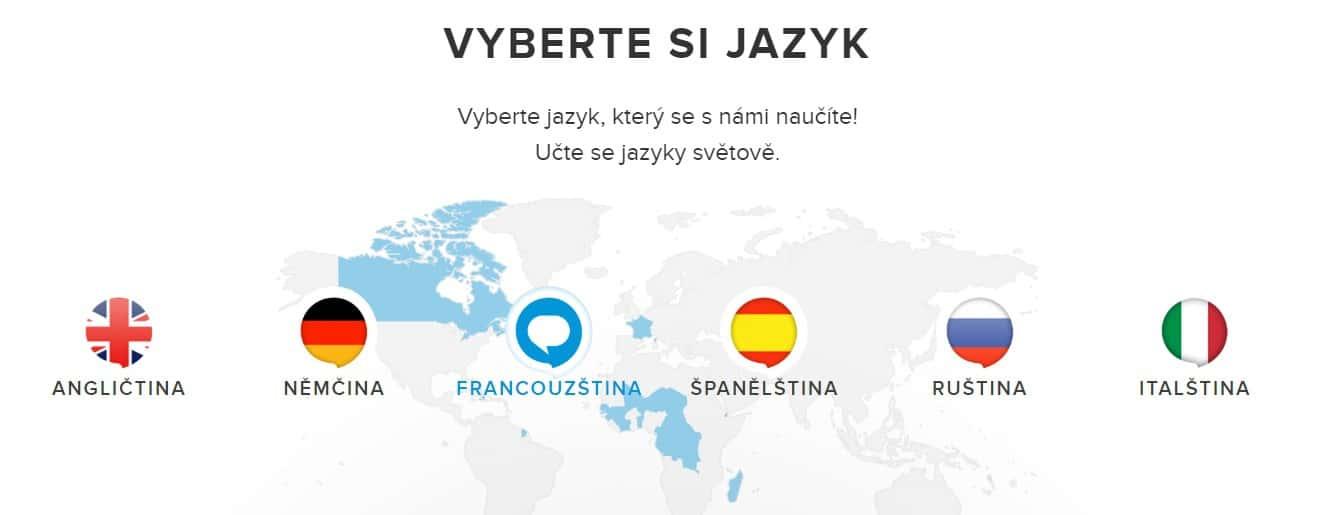 Výuka šesti jazyků