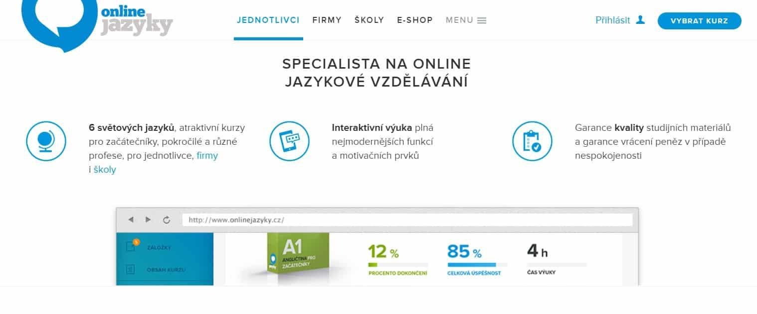 online kurzy onlinejazyky