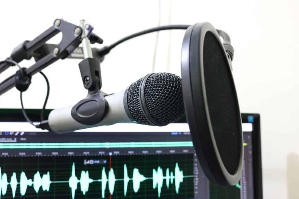 pop filtr k mikrofonu