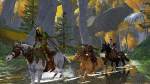 MMO hra Lord of the Rings Online