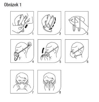použití masky respirátoru