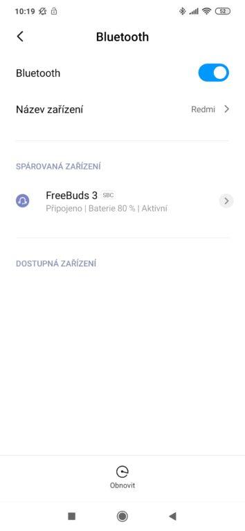 Huawei FreeBuds 3 aplikace