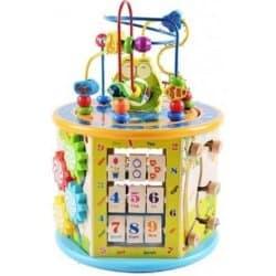 Wooden Toys dřevěná edukační kostka nejlepší dřevěné hračky