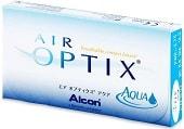měsíční kontaktní čočky Alcon Air Optix Aqua