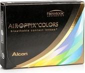 jednodenní kontaktní čočky Alcon Air Optix colors