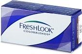 barevné kontaktní čočky měsíční Alcon FreshLook colors Green