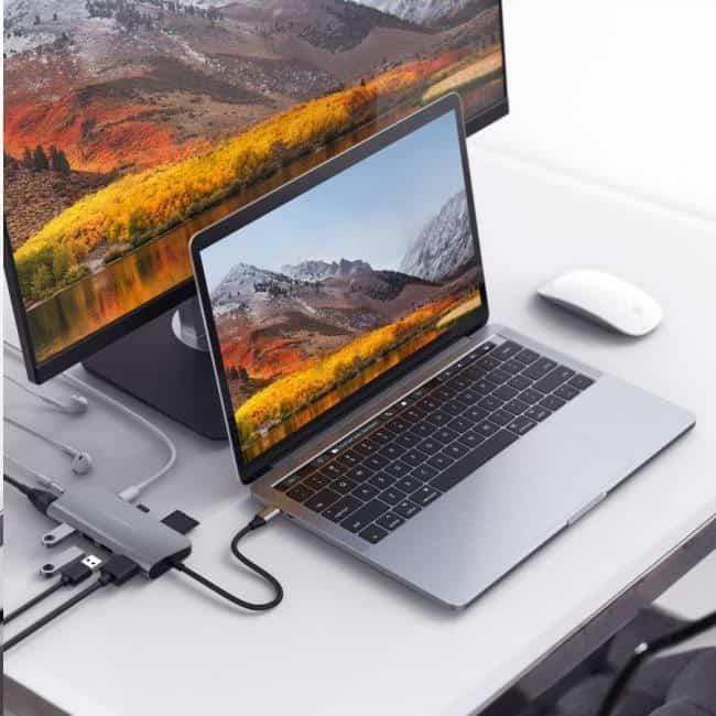 USB rozbočovač s kabelem