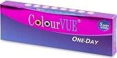 barevné kontaktní čočky jednodenní MaxVue Vision ColorVue