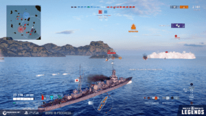 MMORPG World of Warships test