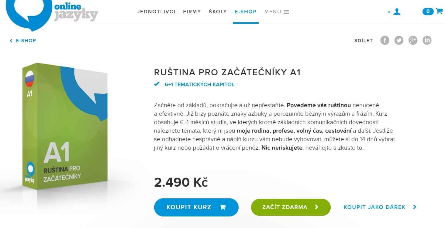 výuka ruského jazyka s onlinejazyky