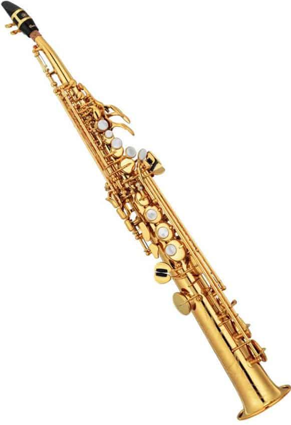 druhy saxofonu soprán