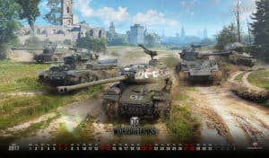 World of Tanks test hry
