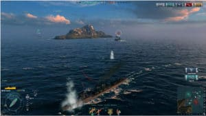 World of Warships test