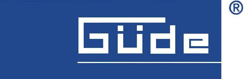 stojanové vrtačky Gude logo