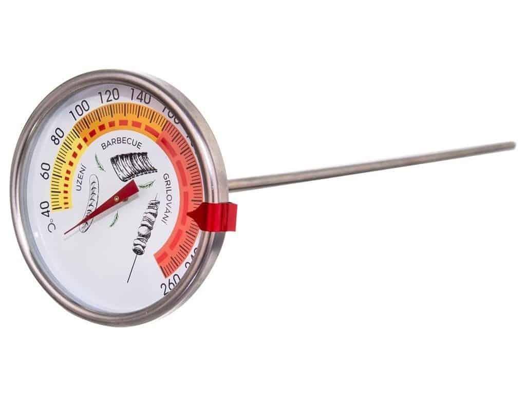 Měření teploty v udírně