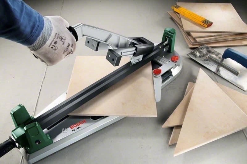 manuálně ovládaná řezačka dlažby