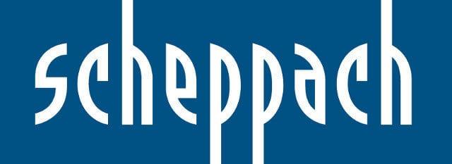 stojanové vrtačky scheppach logo