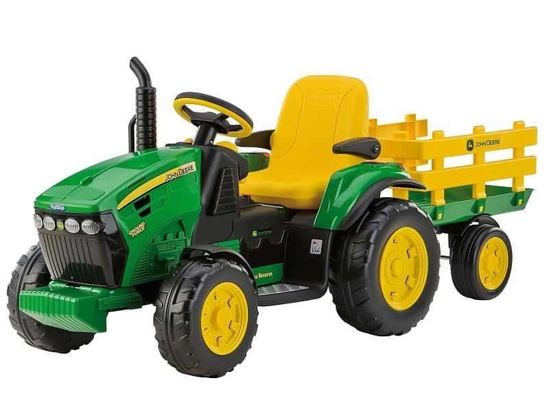 elektrický traktor test