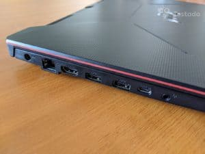 test herního notebooku Asus TUF Gaming A15 FA506II-BQ027T
