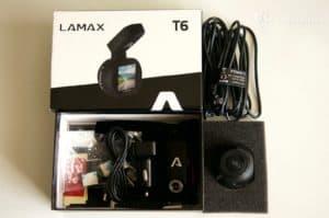 Lamax T6 - obsah balení