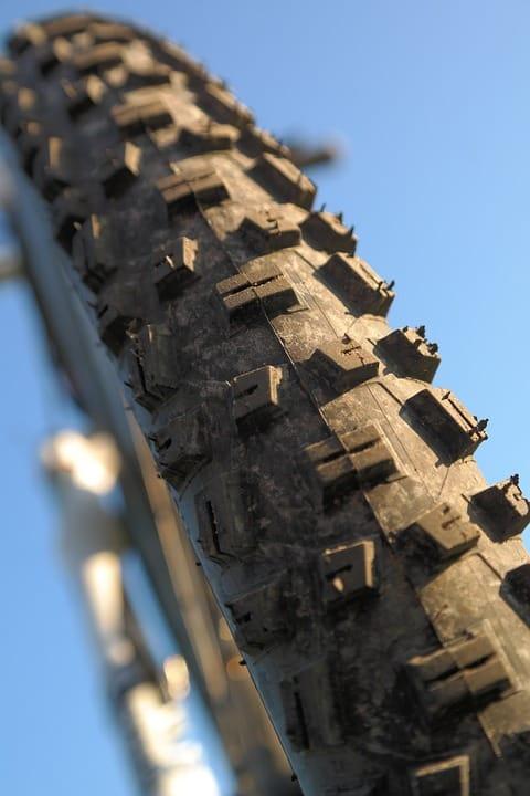 vzorek pláště horského kola