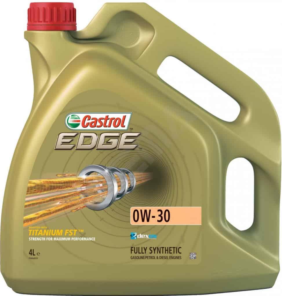 motorový olej Castrol Edge Titanium FST 0W-30 4 l