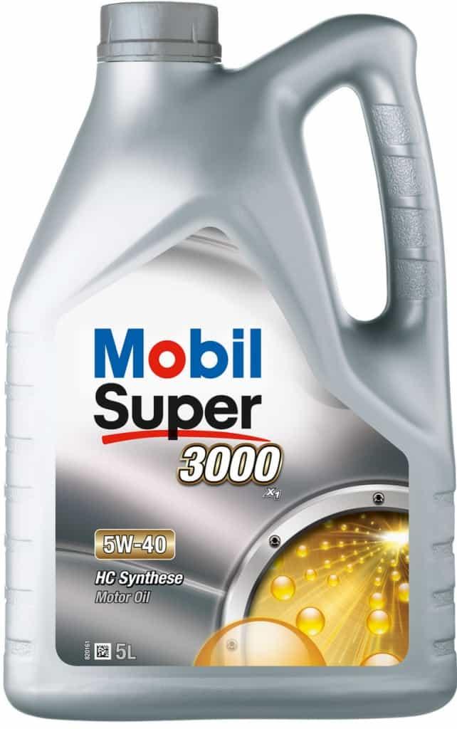 motorový olej Mobil Super 3000 X1 5W-40 5 l