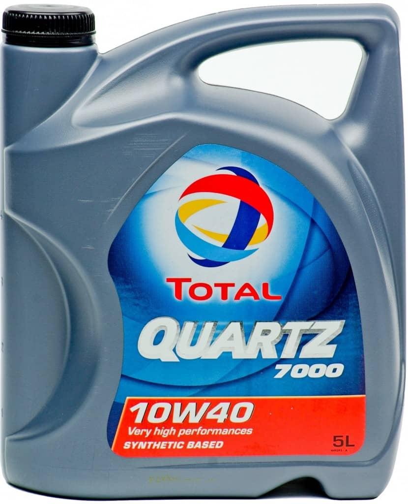 motorový olej Total Quartz 7000 10W-40 5 l