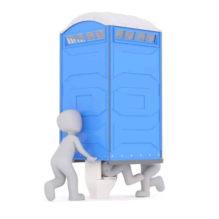 velikost chemického WC