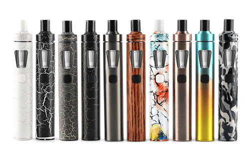 barevný design elektonické cigarety