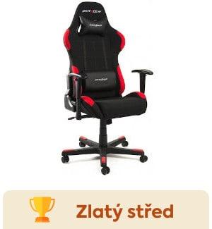 DXRacer OHFD01NR recenze herní židle