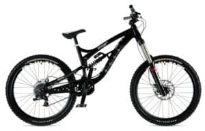Freeride bike se zdvihem 170 - 220 mm